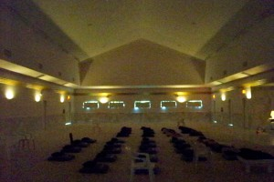 Meditation Hall Interior