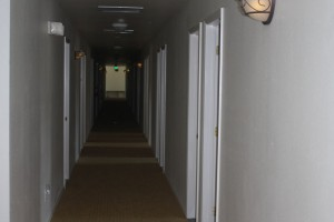 Hallway in men's residence